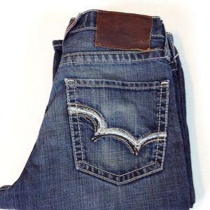 Big Star Jeans Men's Pioneer Boot Cut 30x33